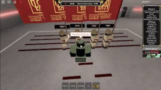 Learning soldiers (How to do tricks) Roblox Red Army