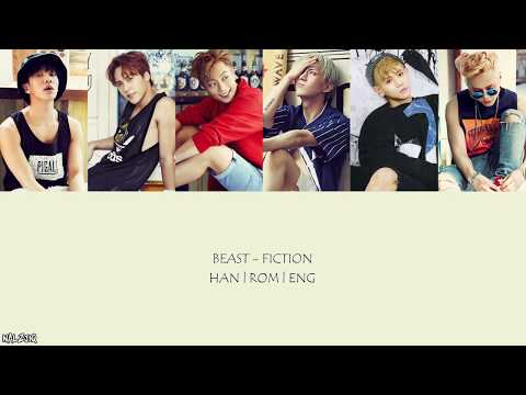 BEAST - Fiction (Color Coded Lyrics)