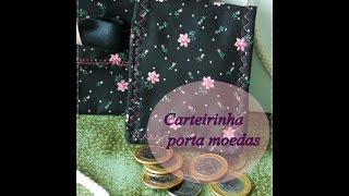 Carteirinha Porta Moedas – Rápida e Fácil por IdeiasdaTianinha