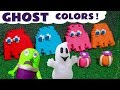 Funny Funlings Learn Colors with  Spooky Play Doh Ghosts - A fun story for kids