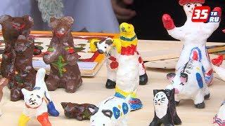 В День защиты детей в Вологде проходит благотворительная ярмарка