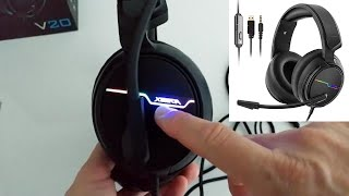 Jeecoo Stereo Gaming Headset for PS4, Xbox One S - Headset with Microphone UNBOXING AND FULL REVIEW