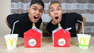 HAPPY MEAL CHALLENGE !!! | PrankBrosTV