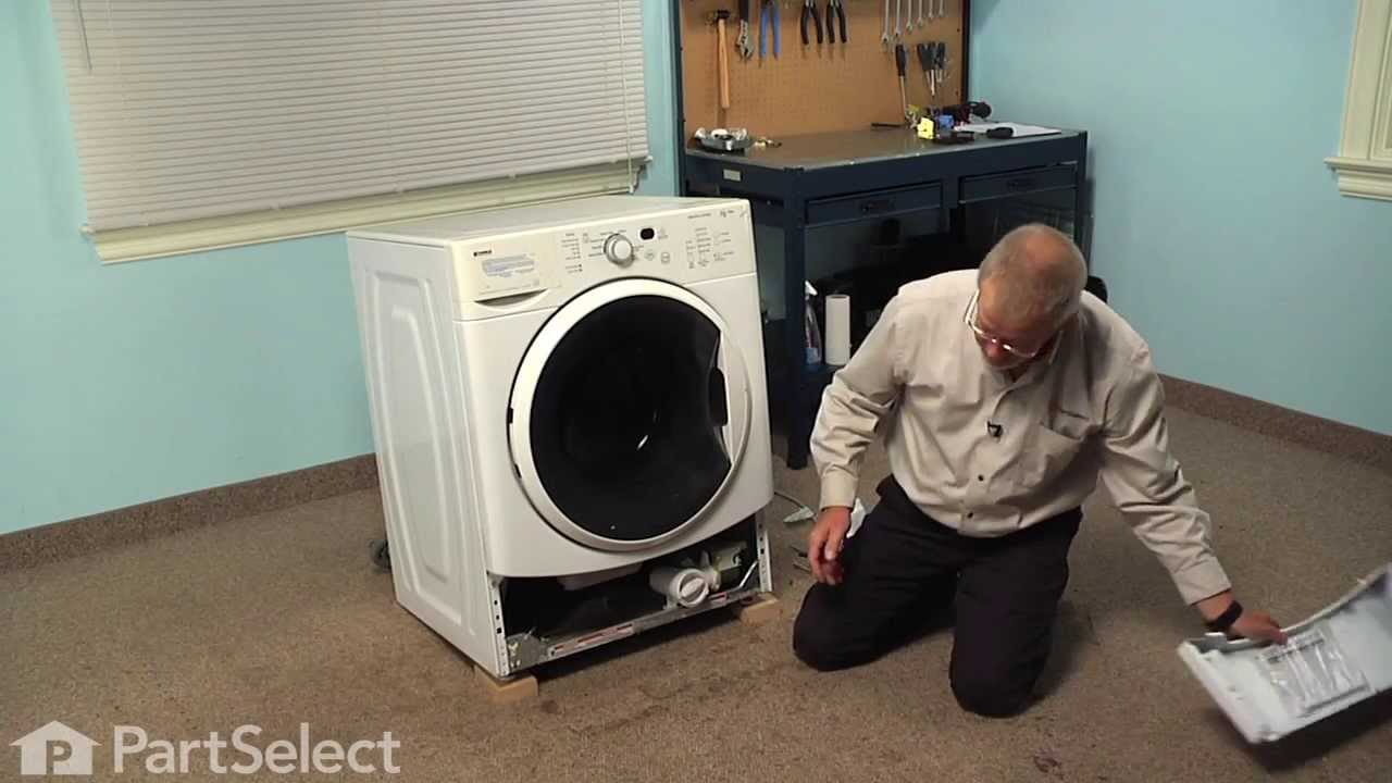 small resolution of washing machine repair replacing the drain pump whirlpool part w10130913 youtube