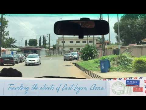 Driving In East Legon, Accra