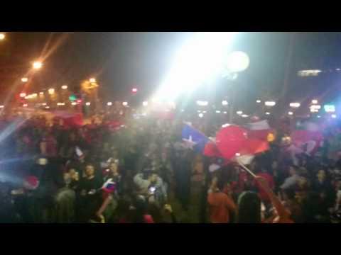 Copa America celebrations - Plaza Italia