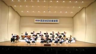 城端中学校吹奏楽部 第31回砺波地区吹奏楽祭20120603