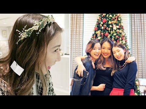 好美的頭飾 + GIRLS NIGHT! [8-14 DEC 2016] | BethniVlogs