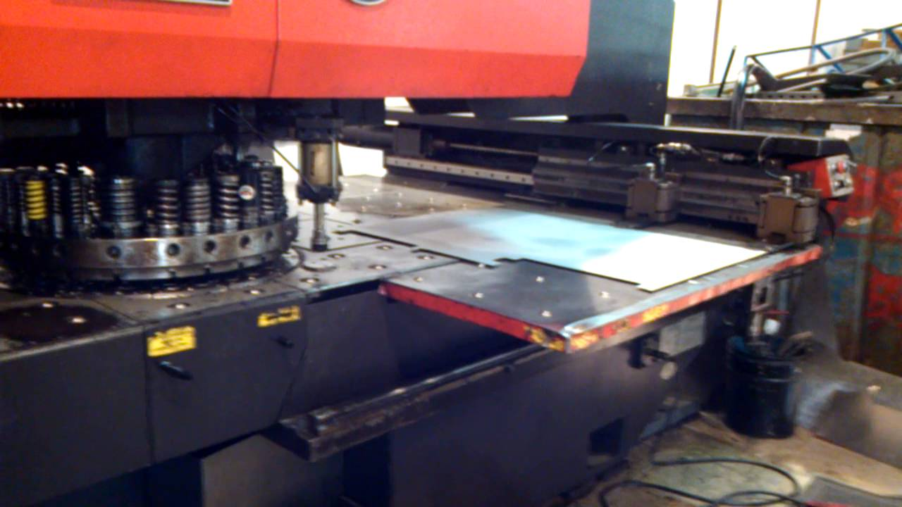 hetaservices used turret punch press