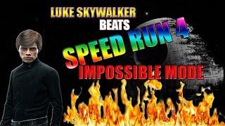 [ROBLOX] LUKE SKYWALKER DEFEATS SPEEDRUN 4 IMPOSSIBLE MODE! *READ DESC*