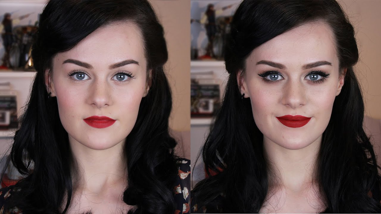 Hair Style 1940: 1940s Inspired Hair & Makeup