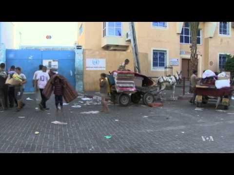 Palestinians Turn to Rebuilding Gaza