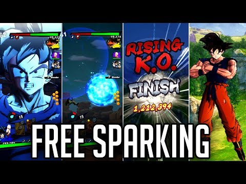 CLUTCHEST VICTORY! LEVEL 1000 FREE SPARKING SPIRIT BOMB GOKU! | Dragon Ball DB Legends