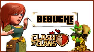 CLASH OF CLANS BESUCHE [1] ★ Let's Play COC ★ German Deutsch HD Android IOS