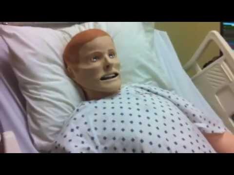 8b041c2a997 USM School of Nursing Robotic Mannequin - YouTube