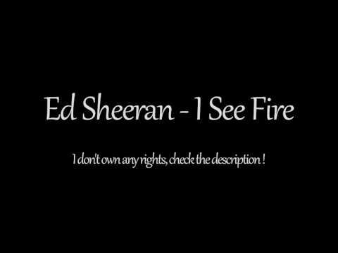 Ed Sheeran - I See Fire (1 Hour) The Hobbit: The Desolation of Smaug