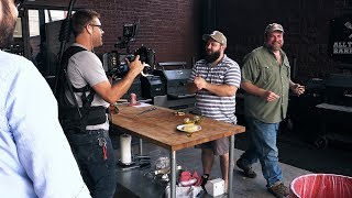 Behind the Scenes at All Things BBQ Video Shoot