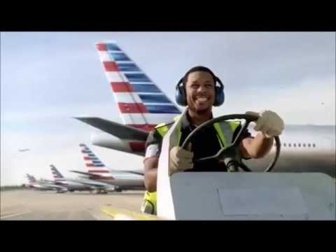 New Plane Smell American Airlines with Kanye West lyrics