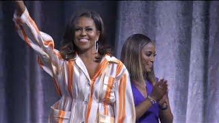 """Notre-Dame sera reconstruite !"", ""Soyez forts"", dit Michelle Obama   AFP News"