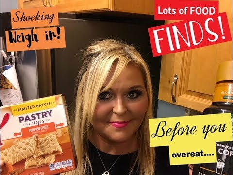 Lots of Food Finds! Weigh in! Get our control back!