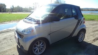 Test Driving A 2008 Smart For Two Passion