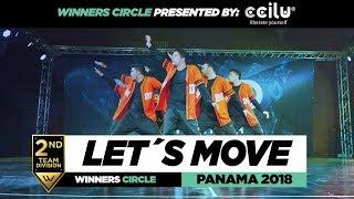 LET´S MOVE El Salvador | 2nd Place Team | Winners Circle | WOD PANAMA 2018 | #WODPANAMA2018