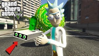 RICK AND MORTY MOD - GTA 5 Mods
