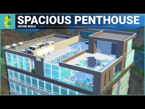 The Sims 4 Apartment Build - Spacious Penthouse