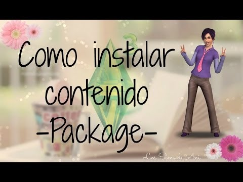 Como instalar contenido packages en Los Sims 3