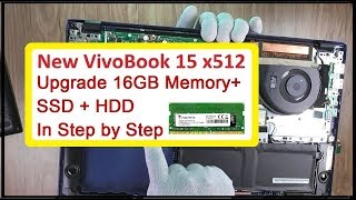 UPGRADE VivoBook15 Upto 16GB Memory + SSD + HDD in Step-by-Step in HINDI by TECHNICAL ASTHA