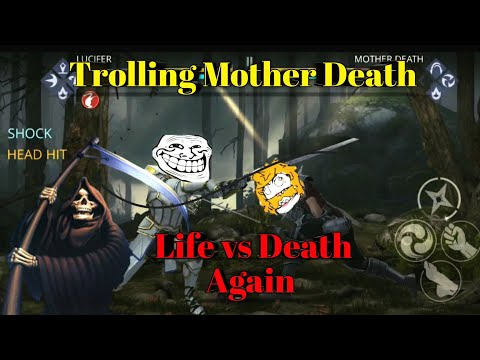 Shadow Fight 3 Trolling Mother Death using Legion Weapons