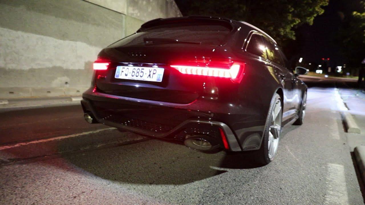 Accélération de ma RS6 by NIGHT !!