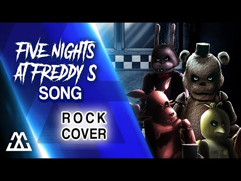 The Living Tombstone - Five Nights at Freddy's 1 Song (Rock Cover)