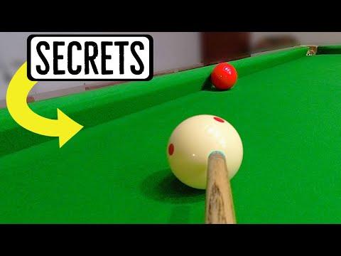 Snooker Cushion Shots Potting Spin