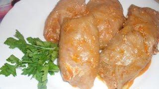 Голубцы по-домашнему  Пошаговый рецепт
