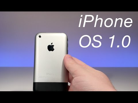 iPhone OS 1.0  -  Review Original 2G