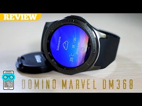 Smartwatch Apa Hape Sih Ini, Koq Layarnya AMOLED? Review Domino Marvel DM368 Smartwatch