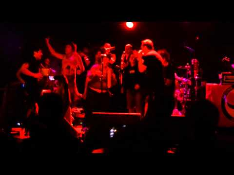 Fermin Muguruza Band with Kumbia Queers live @ Rote Fabrik Zürich 09.07.2013