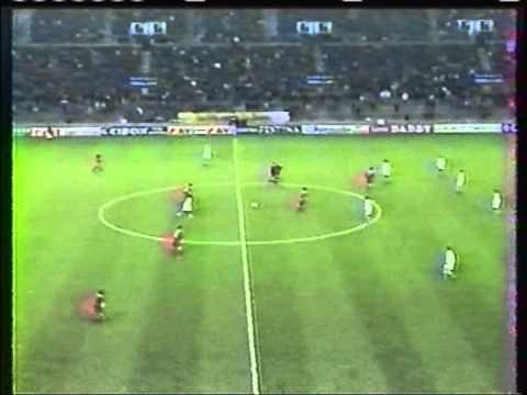 1997 October 21 Strasbourg France 3 Liverpool England 0 UEFA Cup