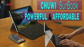 New CHUWI SurBook Intel Apollo Lake Tablet - Why it