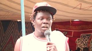 COMEDIAN FEEL FREE Performing live in Gurei 2018 Peace Tree South Sudan King Of Comedy
