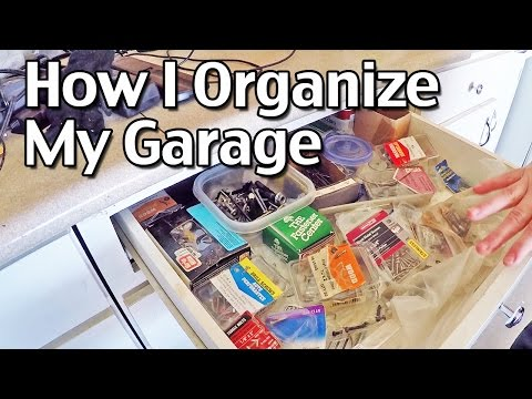 How I Organize My Garage: How To Organize Your Home, Part 5