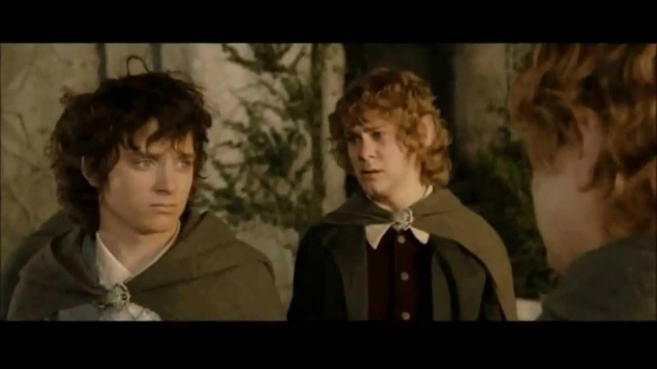the friendship of frodo and sam youtube