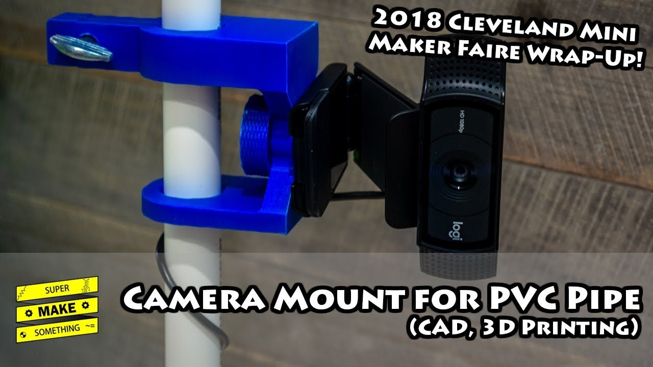 camera mount for pvc