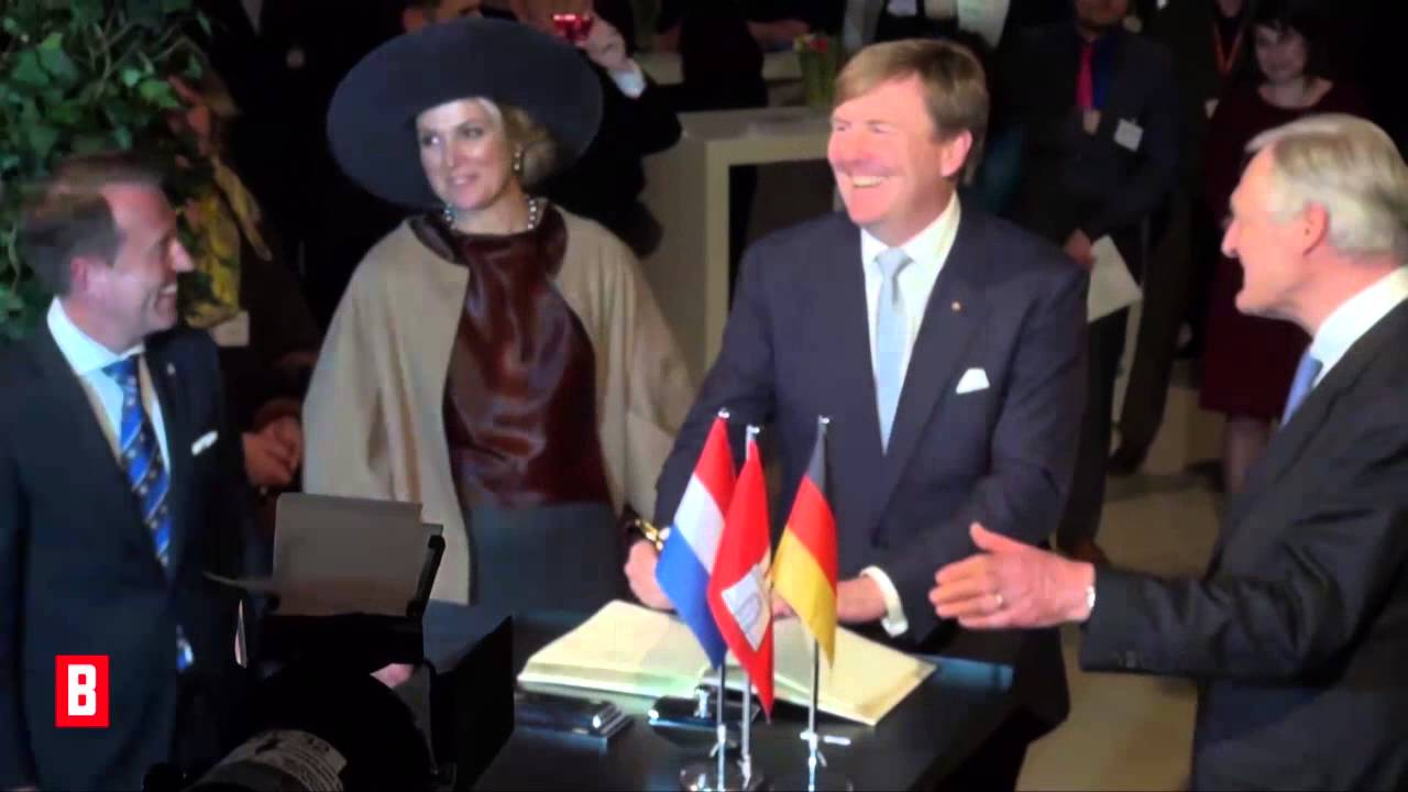 BUNTE TV - Willem-Alexander & Maxima: So gut sprechen sie Deutsch!