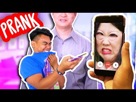 Prank Calling People But We Cant Hear Them (Guava Juice)