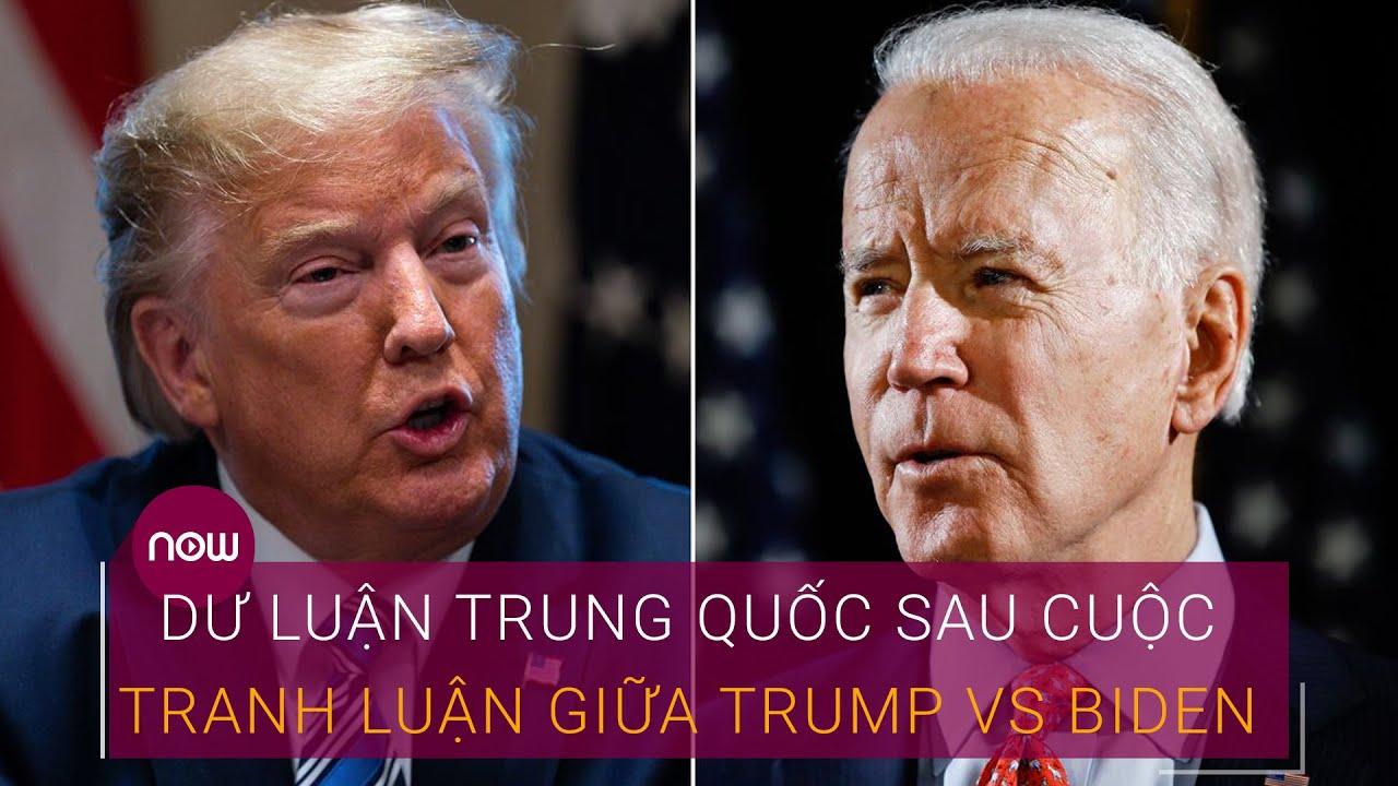 Bầu cử Tổng thống Mỹ 2020: Dư luận Trung Quốc sau cuộc tranh luận giữa Trump Vs Biden | VTC Now