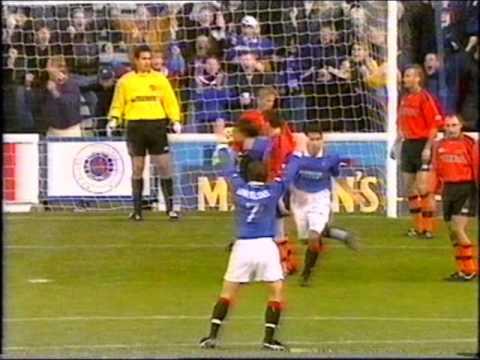Rangers 2 - Dundee Utd 1 - Oct 98 - Amo Goes From Villain To Hero