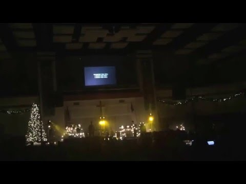 Cloverton in Kansas City on 20 December 2015...a Hallelujah Christmas plus other Christmas songs