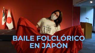 BAILE FOLCLÓRICO EN JAPÓN